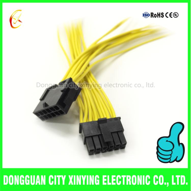 68_0 12 pin 3 0mm molex connector male to female wire harness